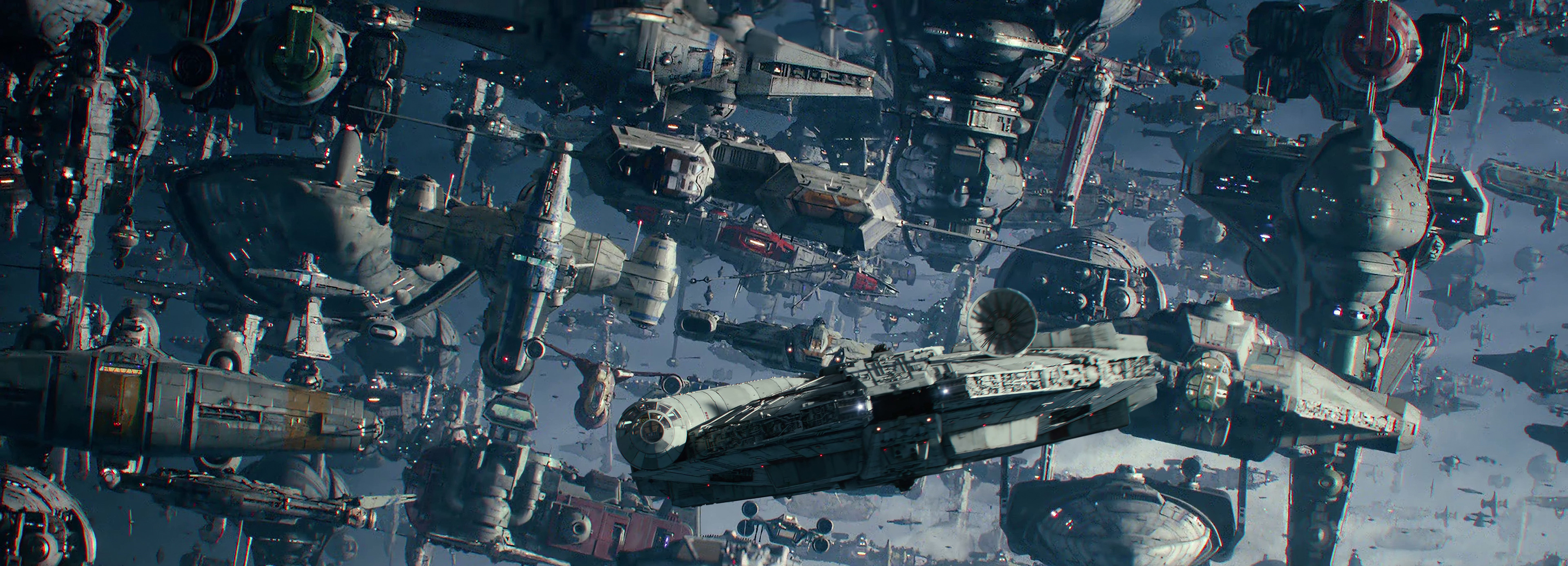 the-resistance-space-armada-and-the-millennium-falcon-star-wars-the-rise-of-skywalker